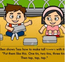 Phonics Stories by LearnEnglish Kids, aplicación para aprender inglés