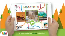 Dada Trains , aplicación educativa sobre trenes