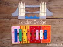 Canciones con xilófono: Cómo tocar London bridge is falling down
