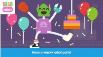 Sago Mini Robot Party, la app más imaginativa